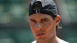 Roland-Garros: Rafael Nadal touché mais pas