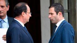 François Hollande reçoit des députés frondeurs à