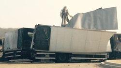 Deux fourgons braqués par un commando sur l'A6, 9 millions d'euros