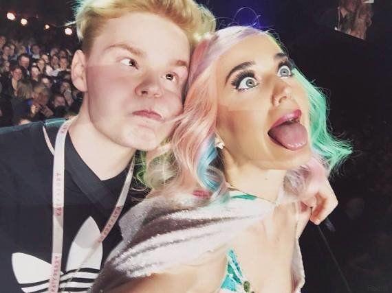 PHOTOS. Katy Perry : son selfie avec un fan détourné par les