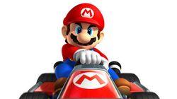 Quelque chose n'est pas habituel avec la musique de cette partie de Mario