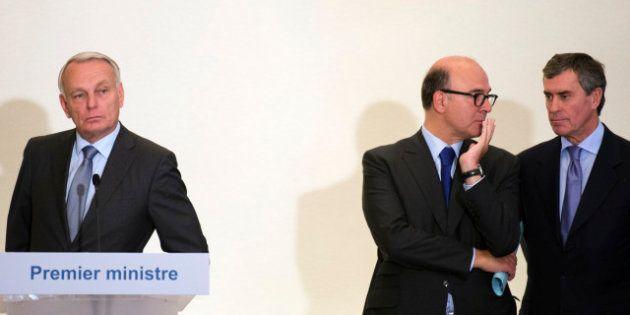 Cahuzac, Moscovici... la ligne économique de l'exécutif attaquée en pleine crise de