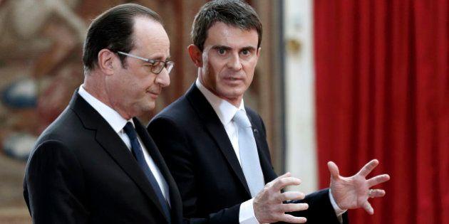 Elections départementales : Hollande et Valls ciblent le FN pour ressouder la