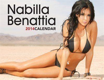 PHOTOS. Nabilla Benattia sort son calendrier