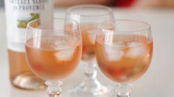 Trois types de rosés à déguster