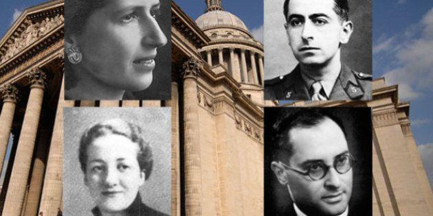 Geneviève de Gaulle Anthonioz, Pierre Brossolette, Germaine Tillion, Jean Zay... Qui sont les quatre...