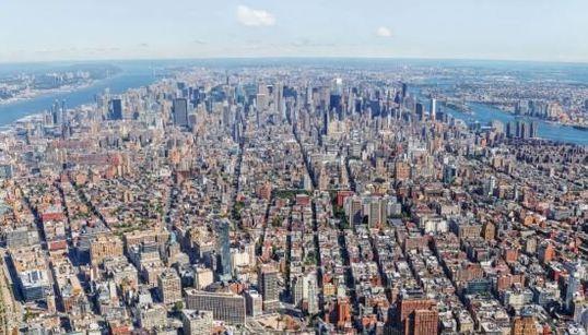 Époustouflante vue du nouveau World Trade Center à