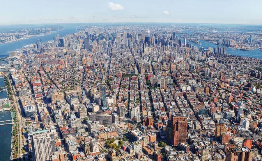PHOTOS. New York : en haut du nouveau World Trade Center, une vue HD incroyable à 360