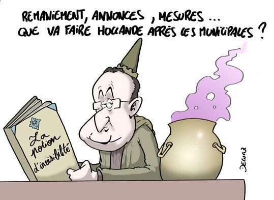 Hollande prépare le jour