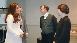 Une visite royale pour la série Downton