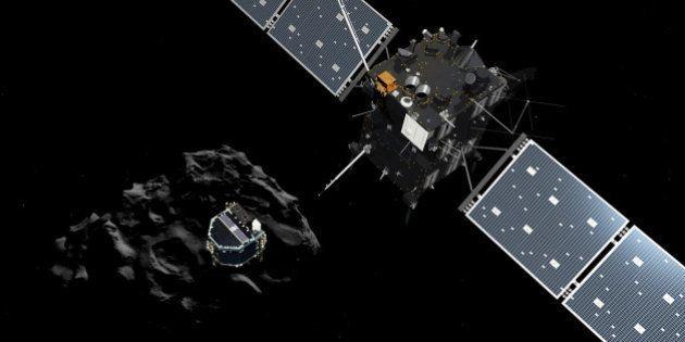 La sonde Rosetta essaie de reprendre contact avec le robot Philae ancré sur la comète