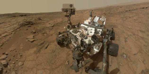Vie sur Mars: le robot Curiosity confirme pour la première fois la présence de molécules organiques dans...