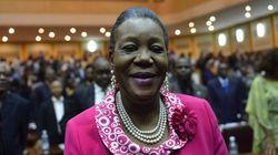 Une femme élue présidente de transition en