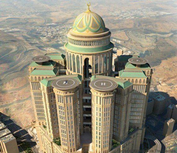PHOTO. Arabie Saoudite: La Mecque prévoit de construire le plus grand hôtel du
