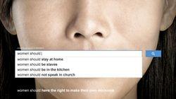 Le sexisme illustré par les recherches populaires sur