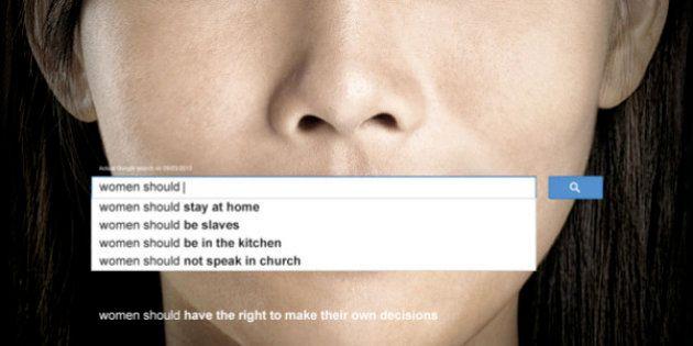 L'ONU-Femmes lance une campagne sur le sexisme à travers les recherches populaires sur