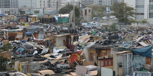 Marseille : Le plus grand campement de Roms de la ville