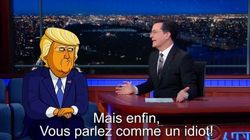 VIDÉO. Donald Trump en dessin animé pour le Late Show de Stephen