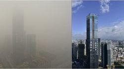 Pollution: ces photos ont été prises à 10 jours