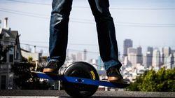 Onewheel, le skate (intelligent) à une