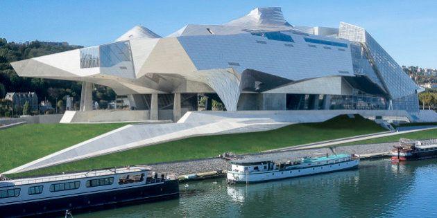 PHOTOS. Le Musée des Confluences ouvre ses portes sur fond de
