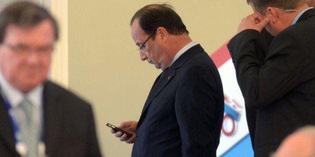 L'appel de Hollande à Obama : la président français a exprimé sa