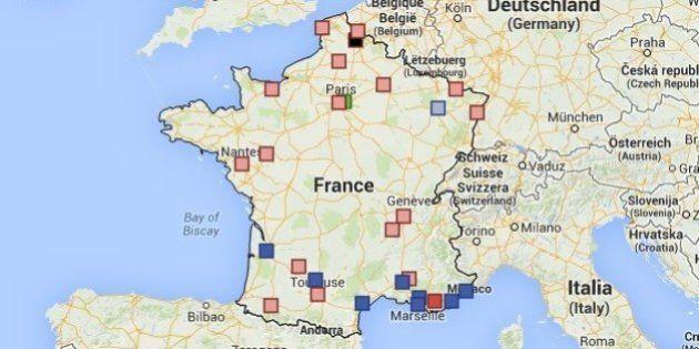 Résultats municipales 2014: les villes qu'il faut suivre pour ce second tour [CARTE