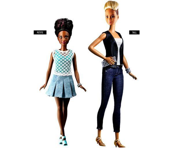 La nouvelle Barbie ne ressemble plus à ça. Grande, petite ou ronde, elle se veut plus