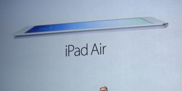 PHOTOS. iPad Air, la dernière tablette d'Apple présentée, des nouveaux MacBook Pro et Mac