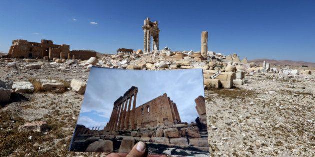 PHOTOS. La cité antique de Palmyre avant et après l'occupation de