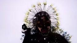 Björk se dévoile en danseuse-araignée dans son nouveau