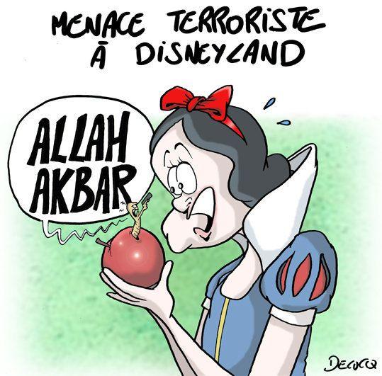 Le mauvais conte de fées à Disneyland