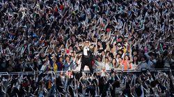 Le concert géant de Psy sur