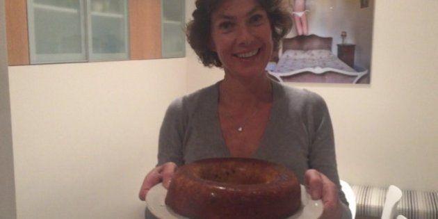 Le fameux gâteau au chocolat et