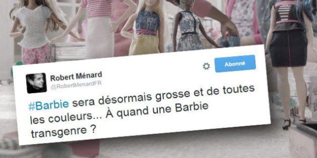 La nouvelle Barbie n'a pas convaincu Robert