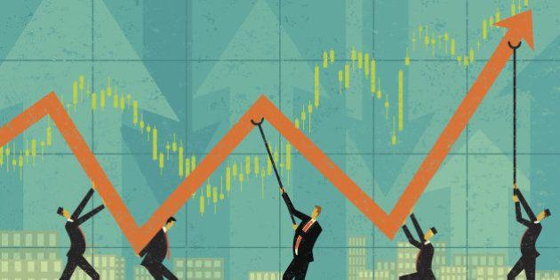 Croissance: l'Insee, optimiste pour 2015, conforte les attentes de François