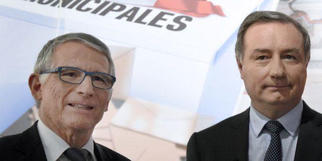 Résultats municipales 2014: à Toulouse, Pierre Cohen redonne son fauteuil à Jean-Luc