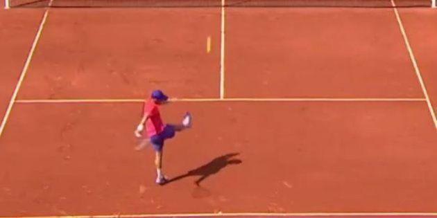 VIDÉO. Roland-Garros 2015 : Jo-Wilfried Tsonga et Dudi Sela se font des passes de