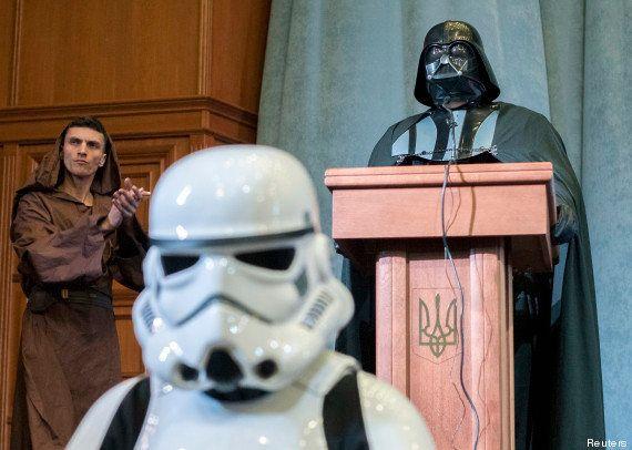 Ukraine : Dark Vador, héros de