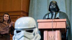 Dark Vador aussi est candidat à la présidentielle