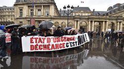 Plusieurs milliers de manifestants dans les rues contre déchéance et état