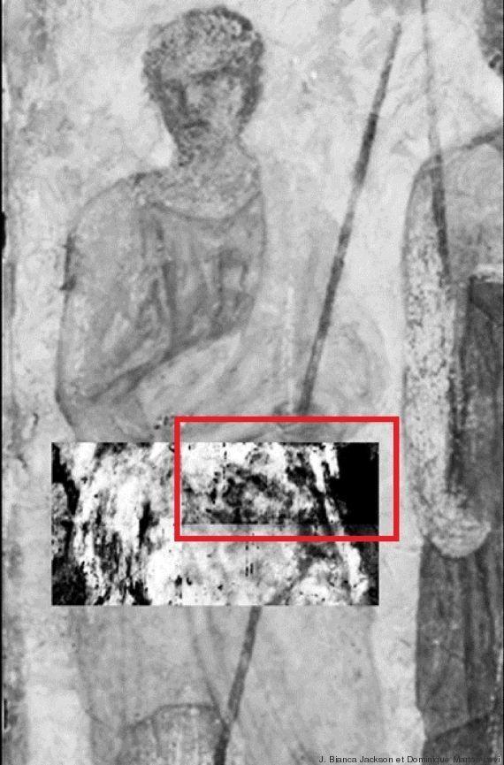 PHOTO. Musée du Louvre : découverte d'une peinture cachée sous une fresque grâce à un scanner