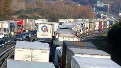 Les routiers à nouveau en grève pour la revalorisation de leur