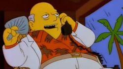 L'épisode prémonitoire des Simpson sur les
