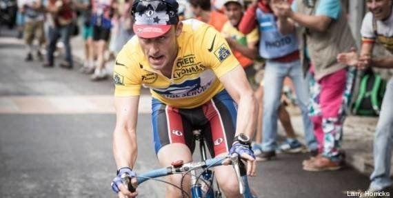 PHOTO. La première image du biopic de Lance Armstrong