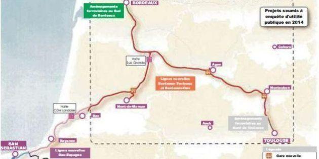 LGV Bordeaux-Toulouse: le tracé de la ligne dévoilé par le ministre des