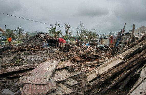 Après le passage du cyclone au Vanuatu,