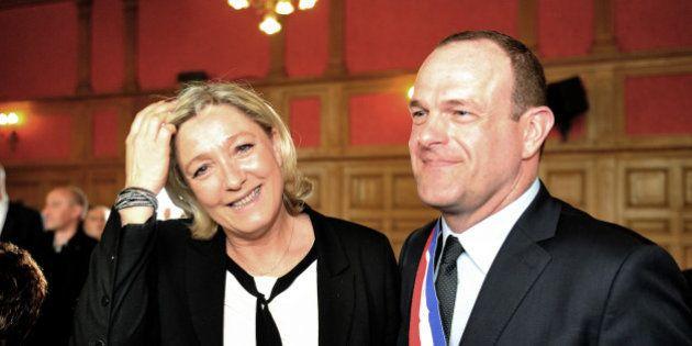 PHOTOS. Steeve Briois élu maire d'Hénin-Beaumont en présence de Marine Le