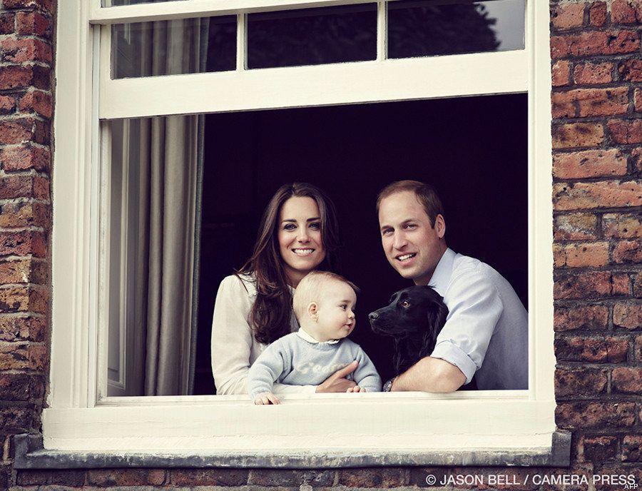 Une nouvelle photo du Prince George