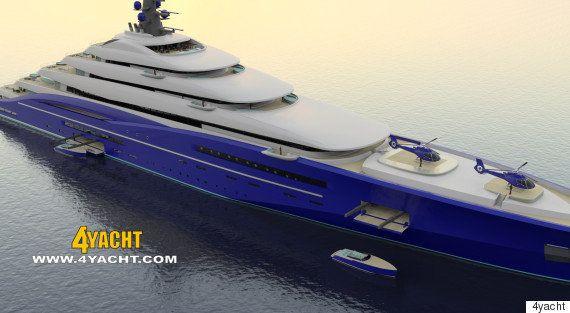 Le plus gros yacht du monde en vente pour 700 millions